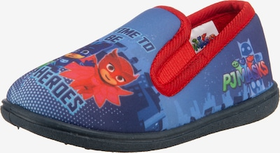 PJ Masks Hausschuhe in blau / rot, Produktansicht