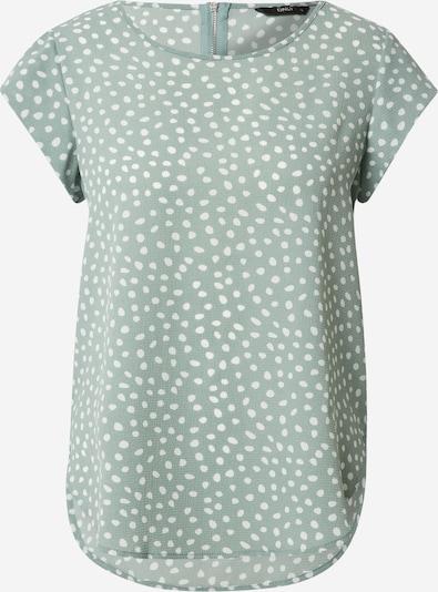 ONLY Shirt in grün / weiß, Produktansicht