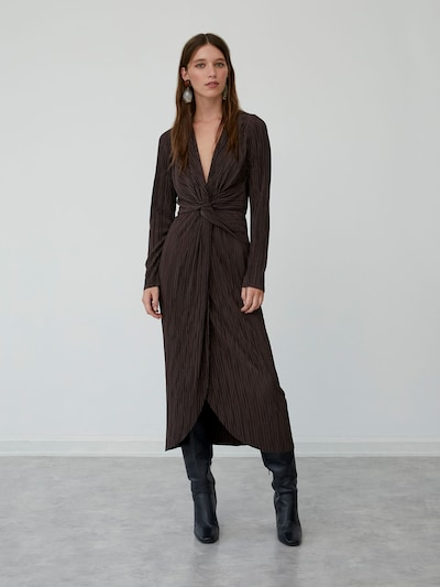 LeGer by Lena Gercke Kleid 'Fine' in braun, Modelansicht