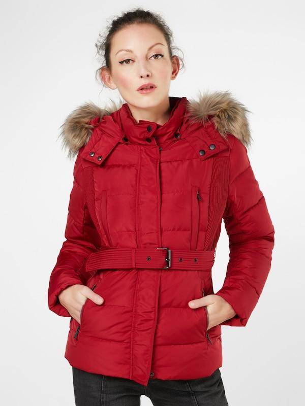 'olivia' Pepe D'hiver Rouge Jeans Veste En SpLUzVMqG