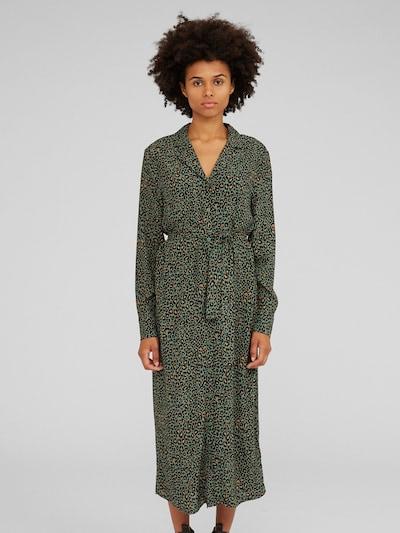 Rochie tip bluză 'Christin' EDITED pe verde închis, Vizualizare model