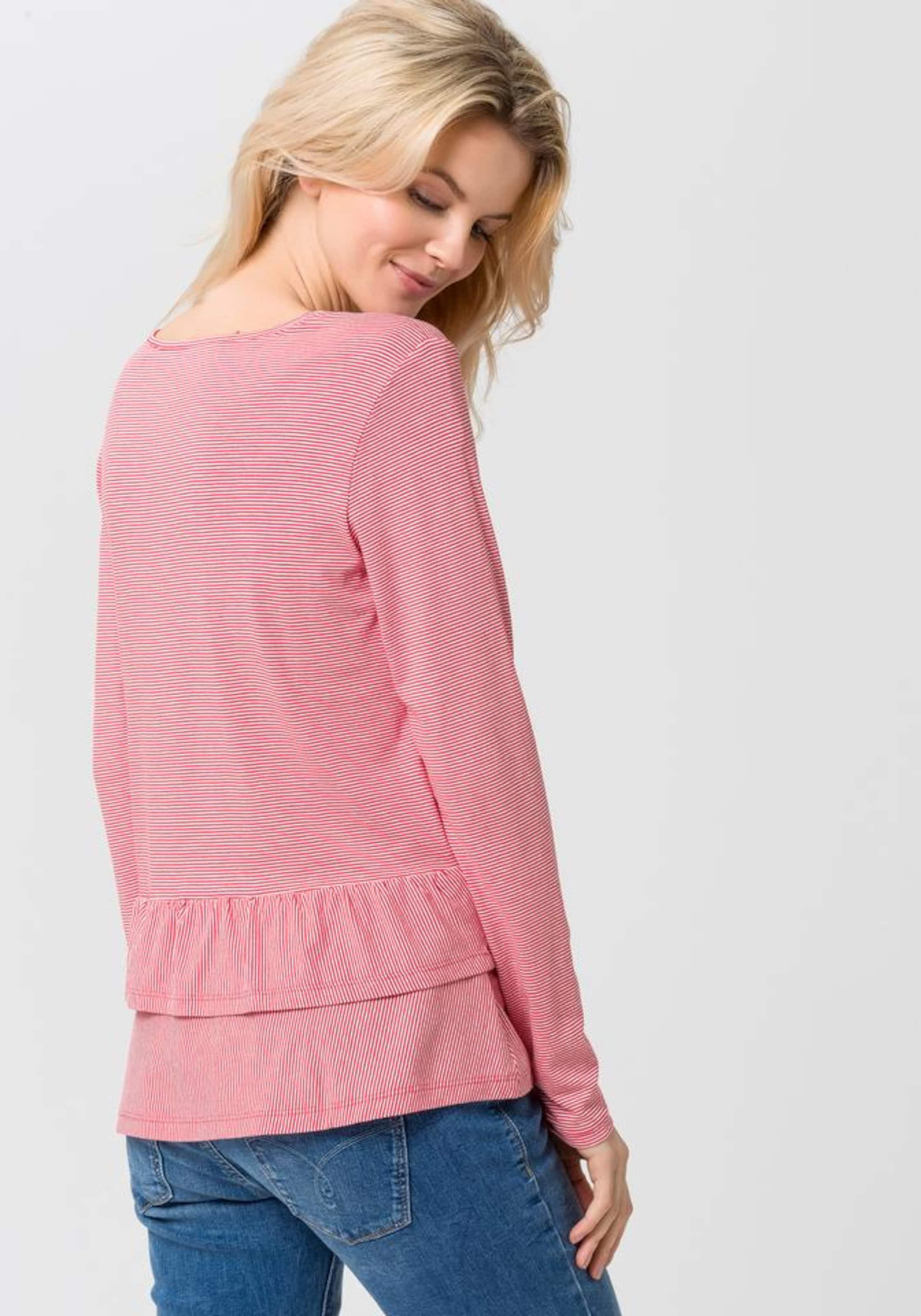 100% Original Günstiger Preis Verkauf Genießen EDC BY ESPRIT Shirt 'stripe frill' Billig Verkauf Offizielle Seite Billig Verkauf Outlet-Store Spielraum Online Ebay IfWthMa53