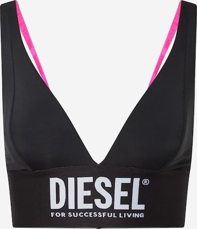 Sutien DIESEL pe roz / negru / alb, Vizualizare produs