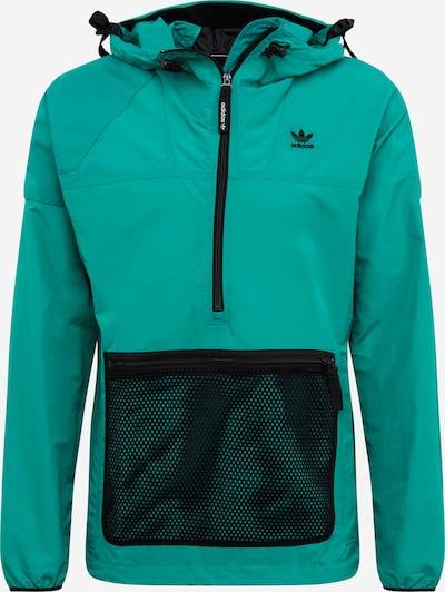 ADIDAS ORIGINALS Prehodna jakna | temno zelena barva, Prikaz izdelka