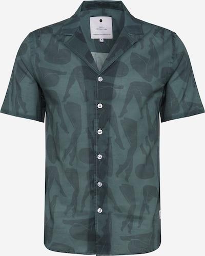 Revolution Hemden 'Ravn Shirt' in dunkelgrün, Produktansicht