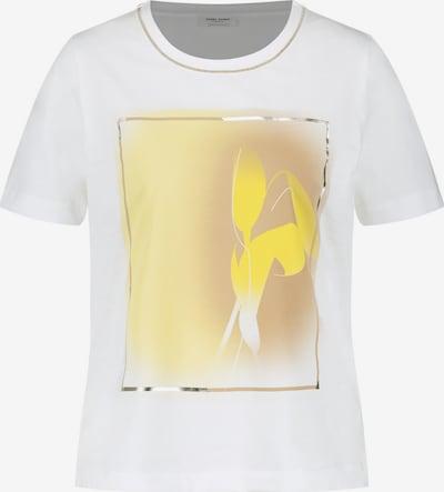 GERRY WEBER T-Shirt in braun / gelb / weiß, Produktansicht