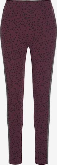 BUFFALO Leggings in lila / schwarz, Produktansicht