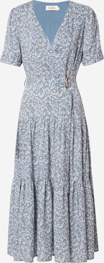 Louche Kleider 'EMIN FLAX' in hellblau / grasgrün / weiß, Produktansicht