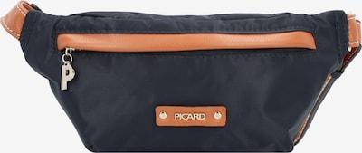 Picard Gürteltasche 'Sonja' in nachtblau / dunkelorange, Produktansicht