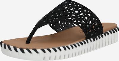 Flip-flops 'SEPULVEDA - LARKSPUR' SKECHERS pe negru, Vizualizare produs
