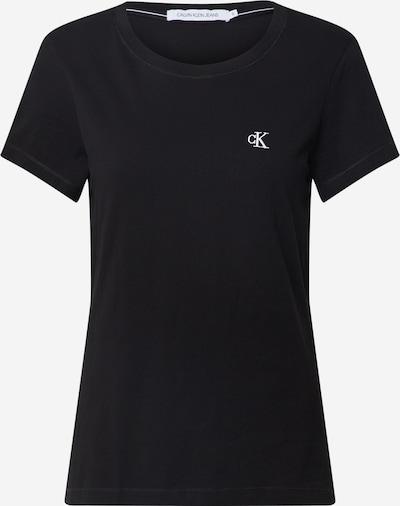 Calvin Klein T-shirt en noir, Vue avec produit