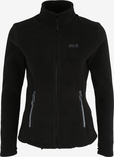 JACK WOLFSKIN Fleece jas 'Moonrise' in de kleur Zwart, Productweergave