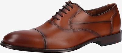 LLOYD Chaussure à lacets en cognac, Vue avec produit