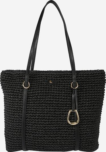 Plase de cumpărături 'Crochet' Lauren Ralph Lauren pe negru, Vizualizare produs