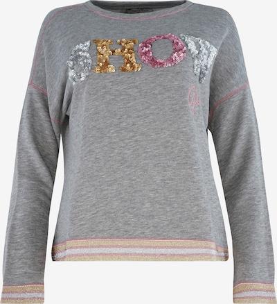 THOMAS RATH Sweatshirt ' Vegas ' in de kleur Grijs gemêleerd / Rosa, Productweergave