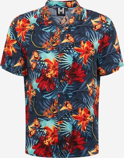 Hailys Men Srajca 'Hawaii 2' | voda / temno modra / svetlo rdeča barva: Frontalni pogled