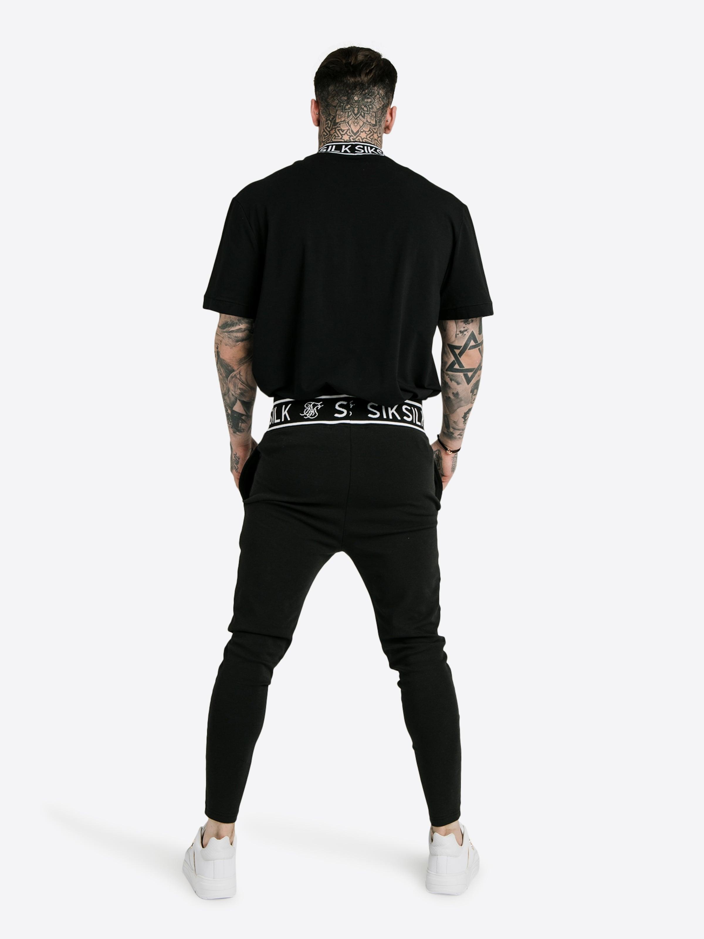 Dani Alves' 'siksilk shirt In Siksilk Schwarz T X zMjLqGUSVp