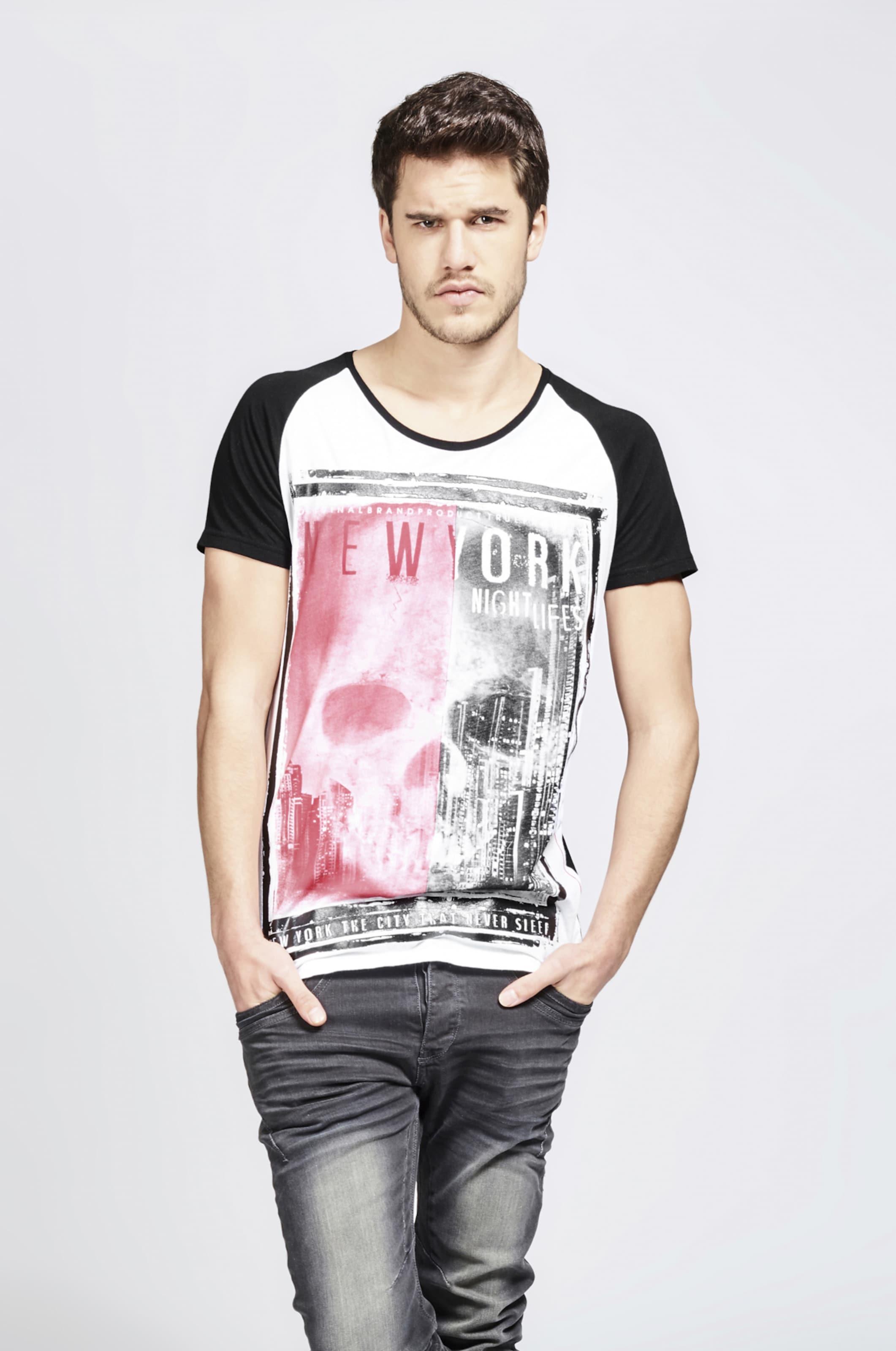 HellpinkSchwarz shirt In Trueprodigy Weiß T T1KcJlF