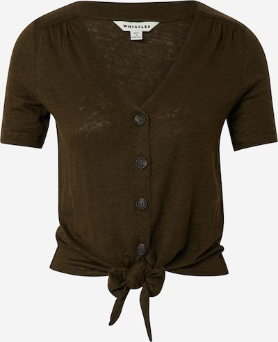 Marškinėliai iš Whistles , spalva - tamsiai ruda, Prekių apžvalga