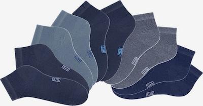 H.I.S Chaussons en marine / bleu fumé / bleu nuit / bleu clair / bleu foncé, Vue avec produit