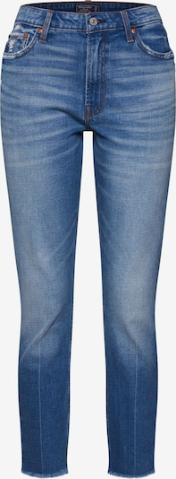 Abercrombie & Fitch Jean 'S119-MED CLEAN SIM HR SLIM' en bleu denim, Vue avec produit