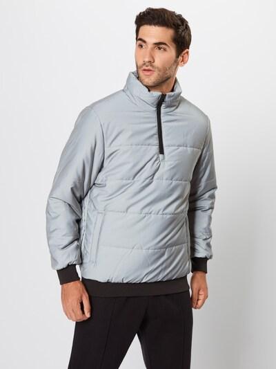 Žieminė striukė 'Reflective Pullover Jacket' iš Urban Classics , spalva - pilka: Vaizdas iš priekio