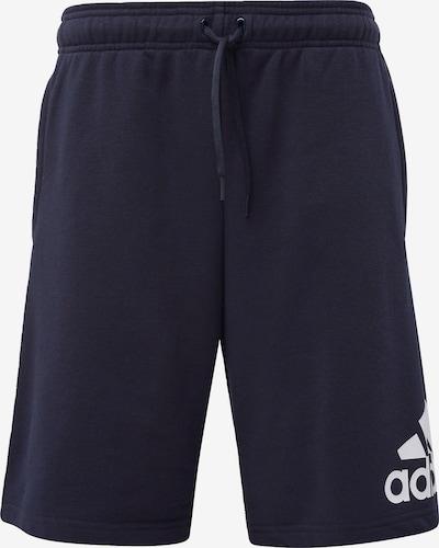 ADIDAS PERFORMANCE Sportbroek in de kleur Nachtblauw: Vooraanzicht
