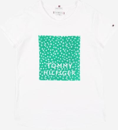 TOMMY HILFIGER Tričko 'Ditsy' - světle zelená / bílá, Produkt