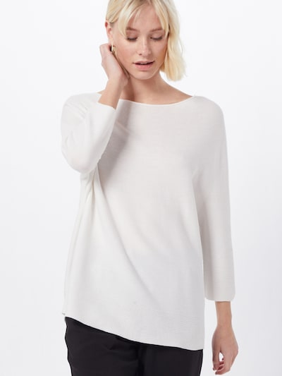 COMMA Pullover in offwhite, Modelansicht