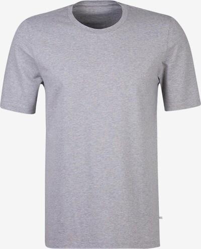 HUBER T-Shirt '24 Hours Men Sleep' in graumeliert, Produktansicht