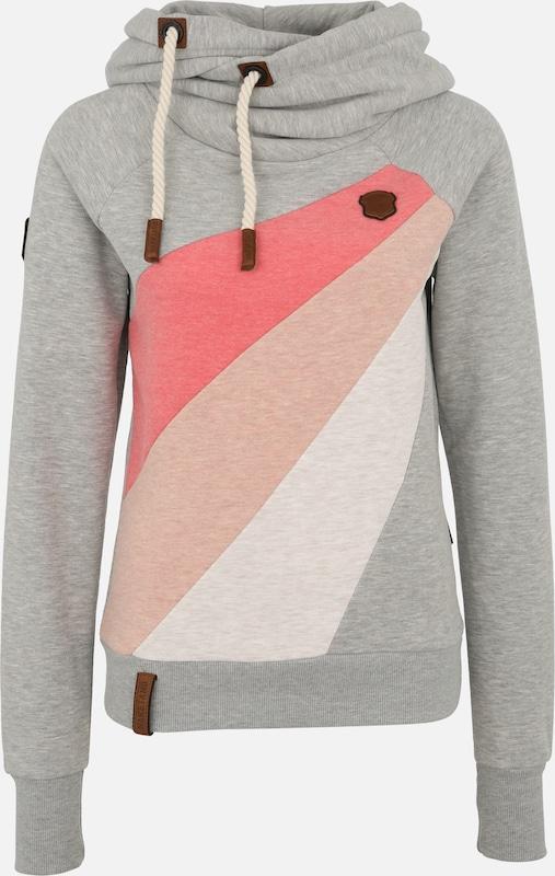 Sweat Rose shirt BeigeGris Rosé Naketano 'sensitive Dependence' Pastel En A4L5j3R