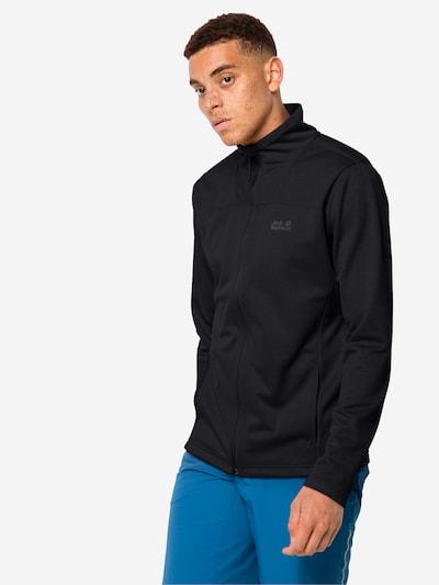 Jachetă  fleece 'HORIZON JACKET M' JACK WOLFSKIN pe negru, Vizualizare model