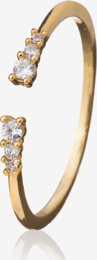 Zaza&lili Goldring 'R-Frail G' in gold, Produktansicht