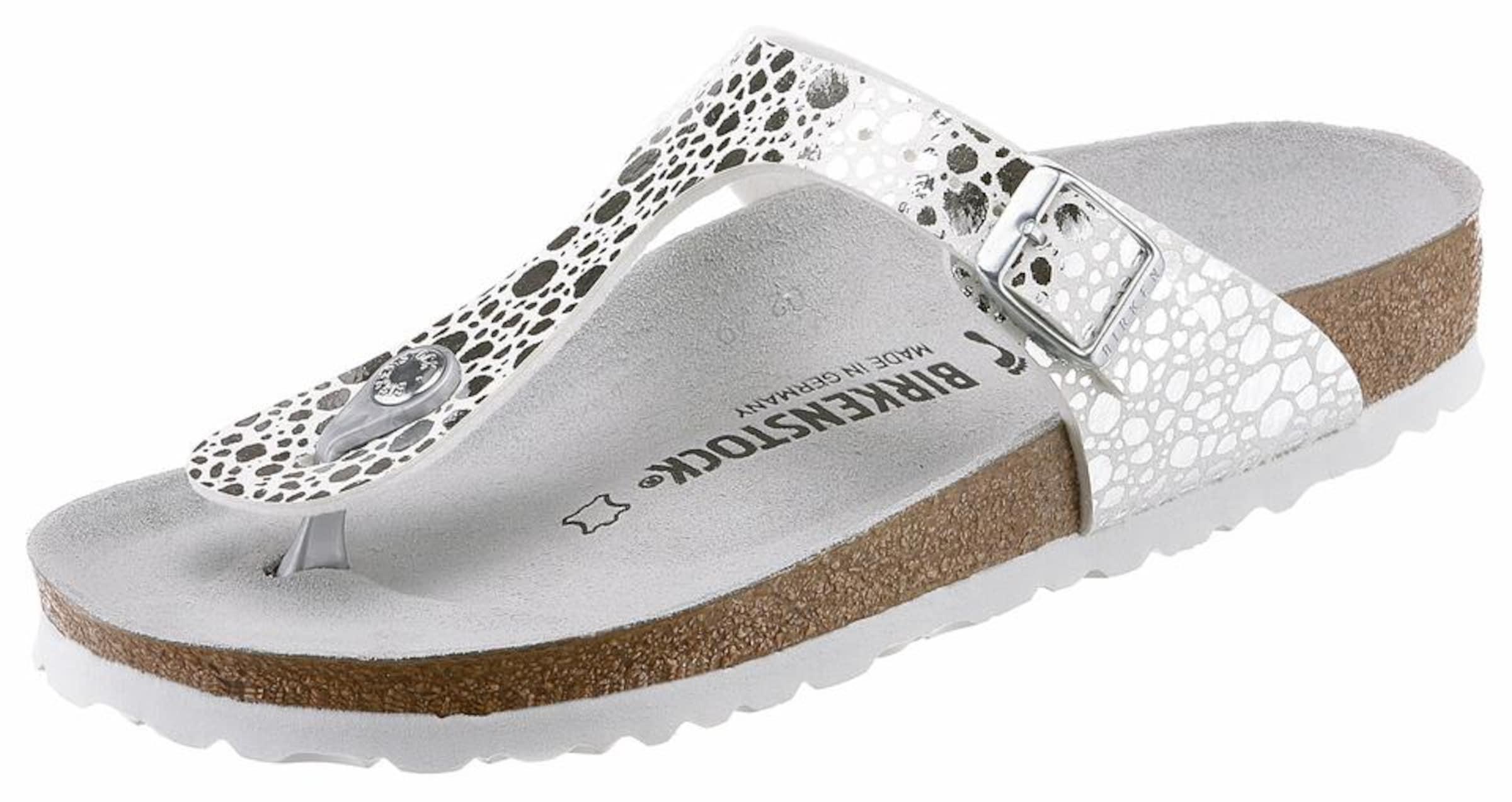 BIRKENSTOCK Zehentrenner Gizeh Verschleißfeste billige Schuhe