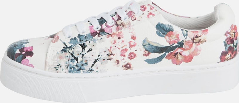 PIECES Blumenprint Sneaker