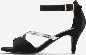 LASCANA Sandalette in Schwarz