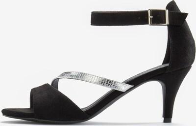 LASCANA Sandalette in schwarz / silber, Produktansicht