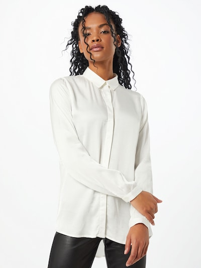 CATWALK JUNKIE Bluzka 'Verona' w kolorze białym, Podgląd na modelu(-ce)