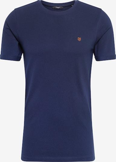 JACK & JONES Shirt in dunkelblau, Produktansicht