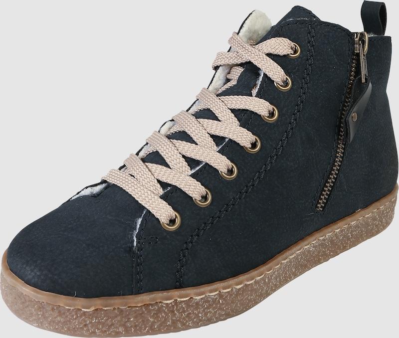RIEKER Sneaker High in Leder-Optik