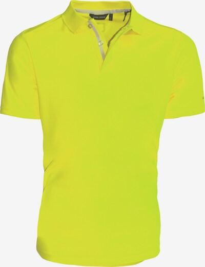 CODE-ZERO Poloshirt 'JIB' in gelb: Frontalansicht
