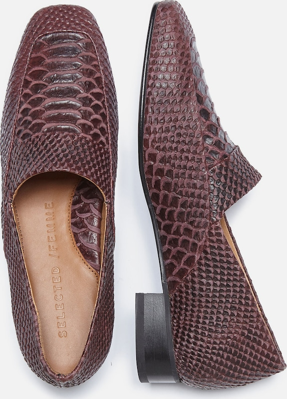 Selected Femme Snakeskin-low Shoes