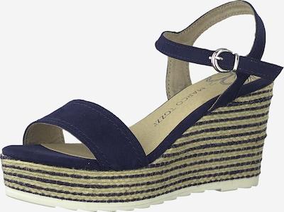 MARCO TOZZI Sandale in blau, Produktansicht
