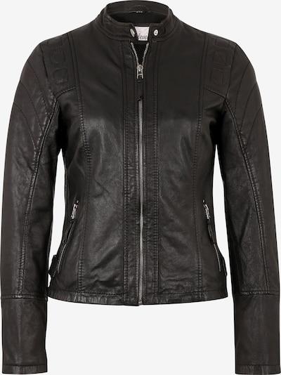 7ELEVEN Lederjacke 'Elly' in schwarz, Produktansicht