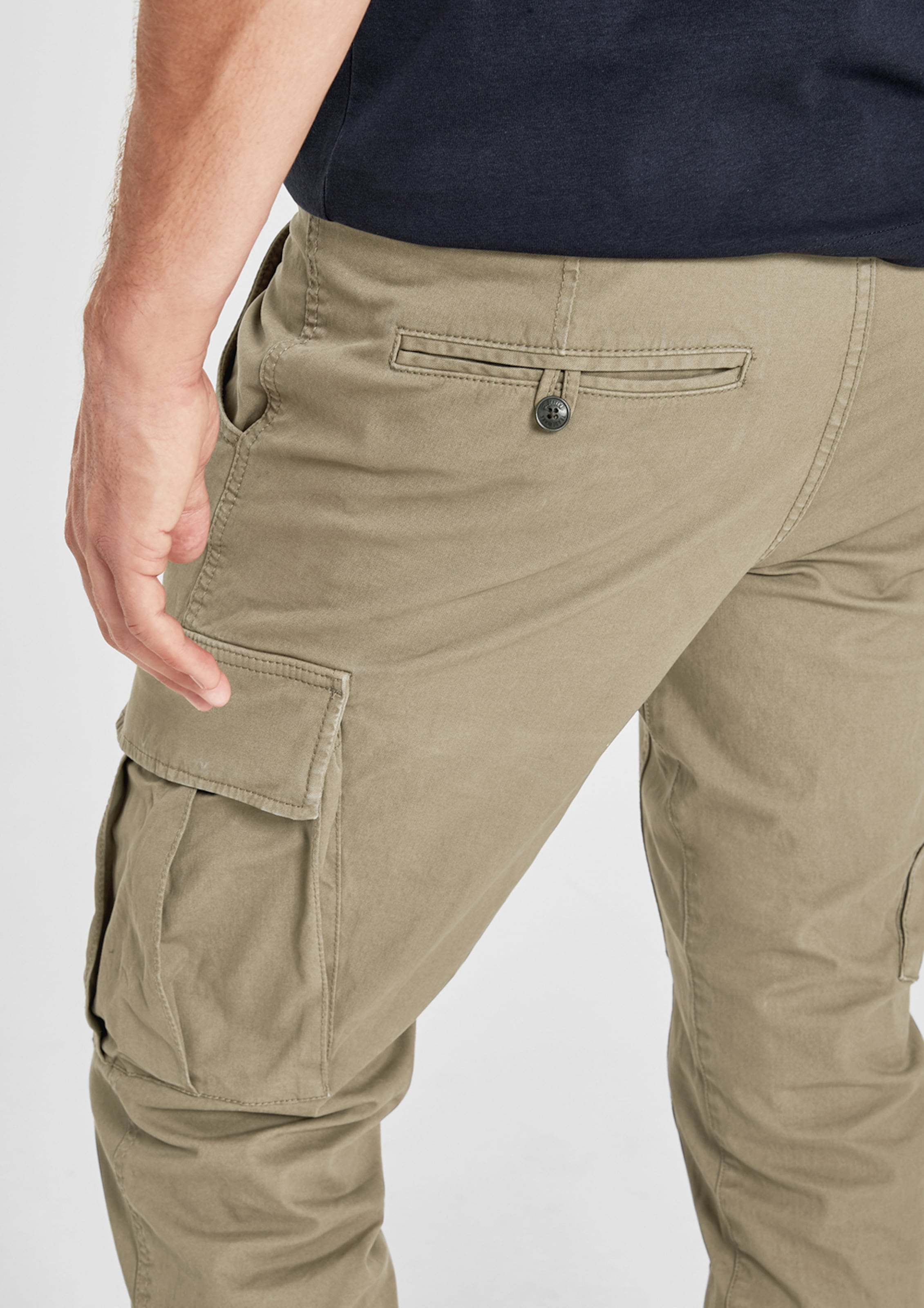 Label Chino In Khaki S Red oliver 8wPXnO0k