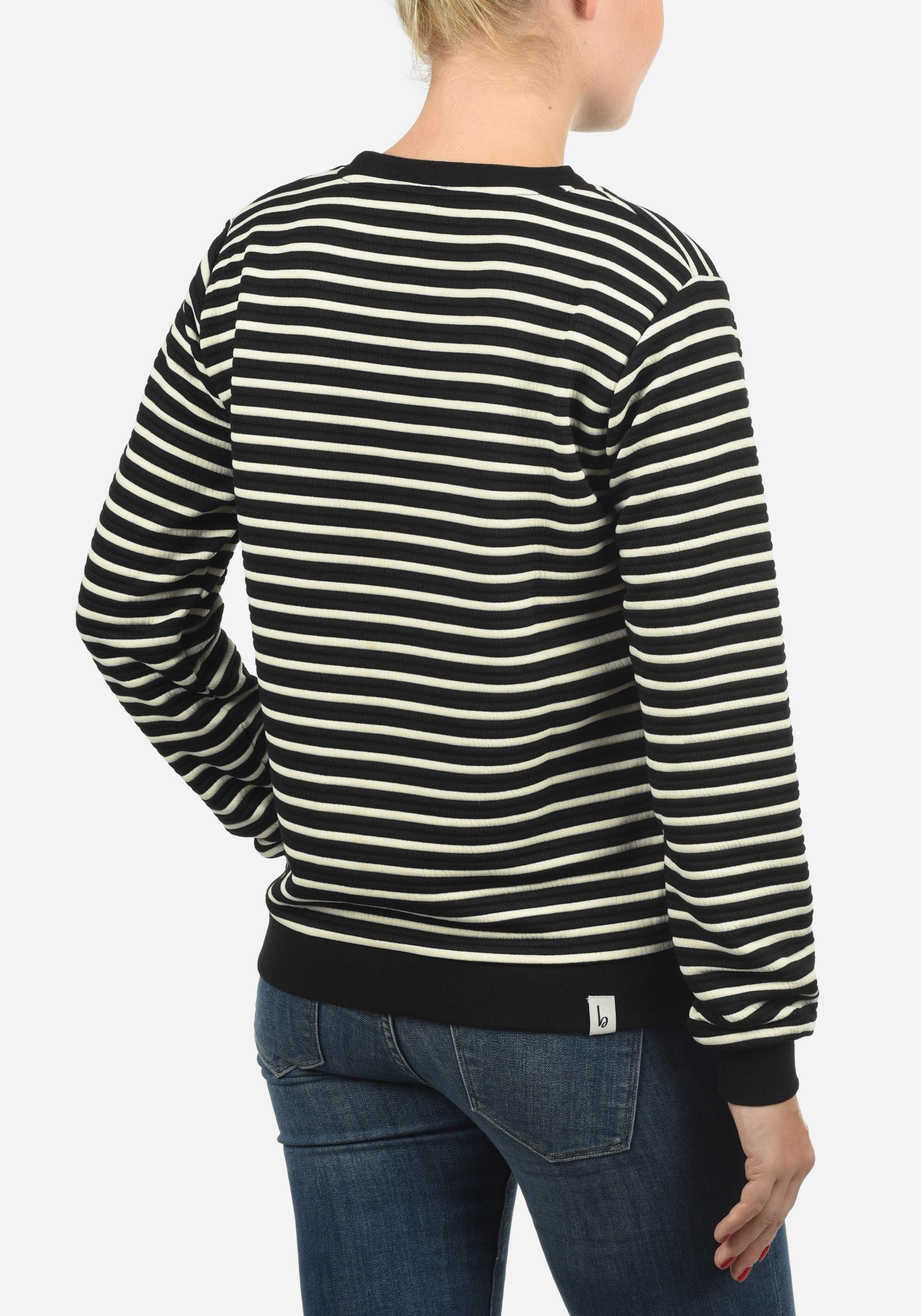 She She Sweatshirt Sweatshirt In In Schwarz Schwarz Blend Blend Blend Sweatshirt She roCBdxe