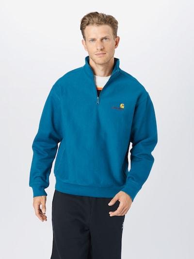 Carhartt WIP Bluzka sportowa w kolorze błękitnym: Widok z przodu
