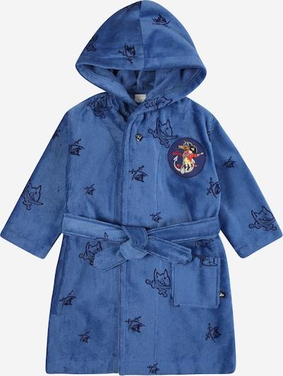 SCHIESSER Bademantel 'Capt´n Sharky' in royalblau / dunkelblau, Produktansicht