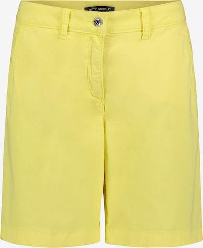 Betty Barclay Sommerhose mit Eingrifftaschen in gelb, Produktansicht