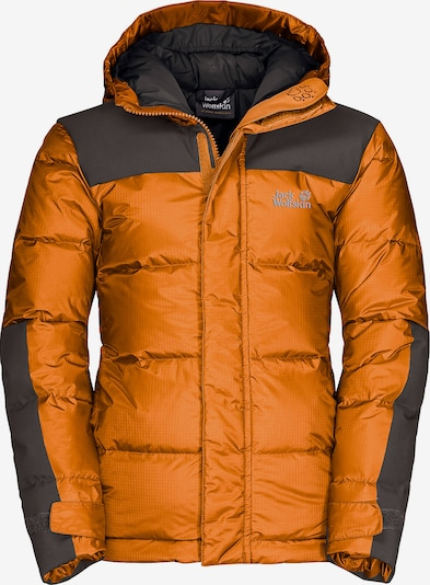 JACK WOLFSKIN Jacke 'Mount Cook' in orange / schwarz, Produktansicht